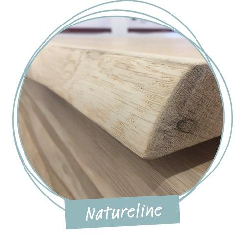 tischkante natureline kante holzland beese unna - Verwandlungskünstler: Ein Holztisch für jeden Raum