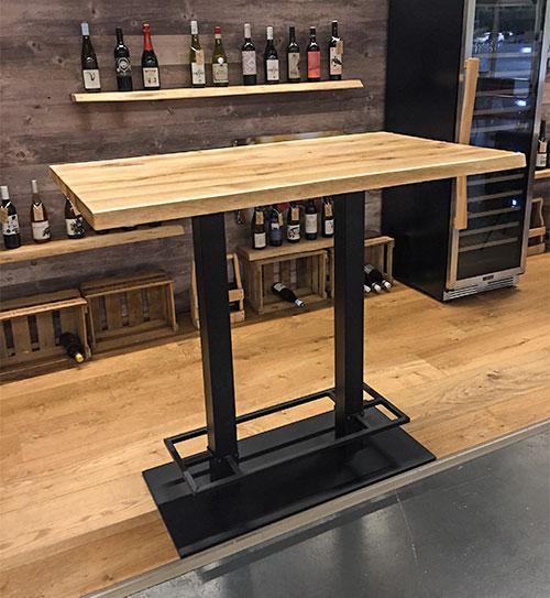 beesondere tische bartisch hoch ausstellung holzland beese unna - BEESondere Tische