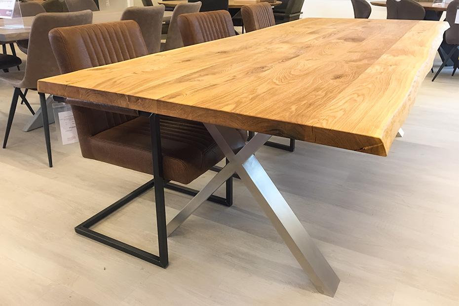 beesondere tische tischset stuehle ausstellung holzland beese unna - BEESondere Tische