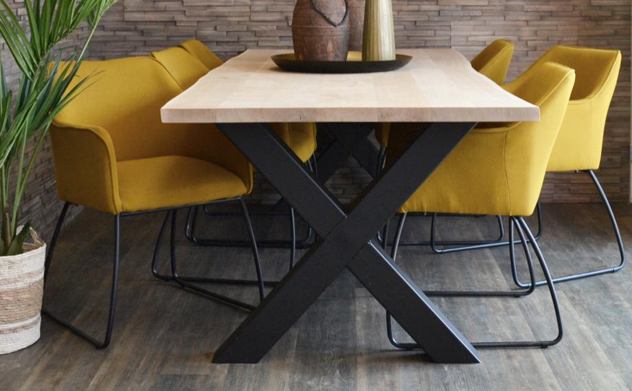 moderne stuehle mit armlehne in gelb holzlandbeese unna - Wohn Dich glücklich: Schicke Stühle für Dein Esszimmer [Serie]