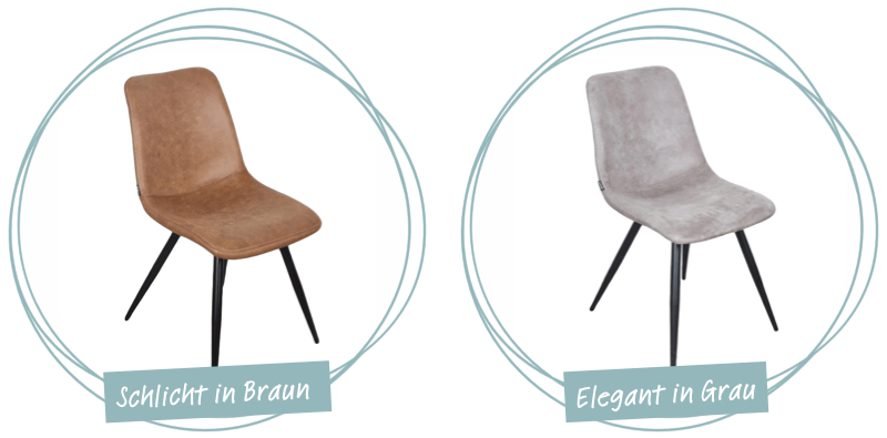 moderne stuehle ohne armlehne holzlandbeese unna - Wohn Dich glücklich: Schicke Stühle für Dein Esszimmer [Serie]